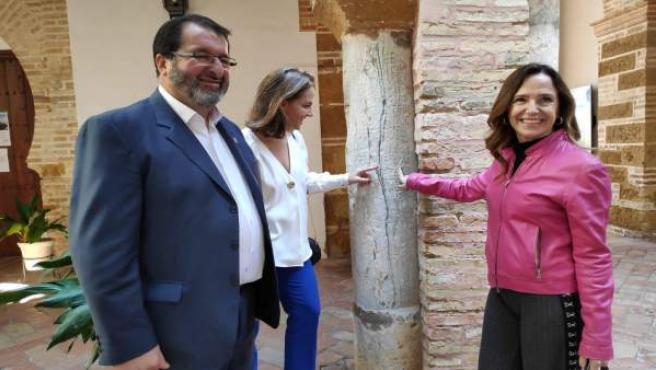 28A.- Jiménez-Becerril promete que Casaso apoyará el proyecto de candidatura de Carmona a la Unesco