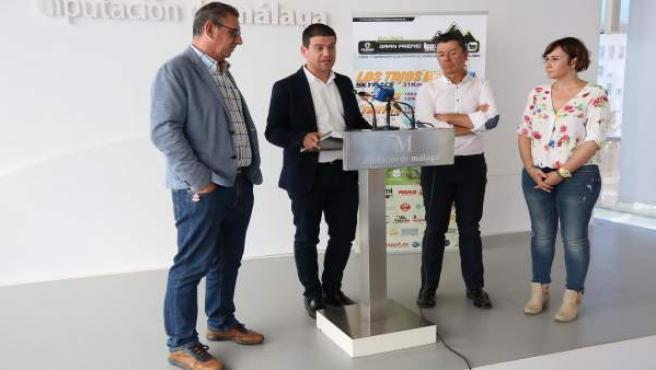 Málaga.- Arranca la nueva edición de 'Los Tajos Skyrace', prueba de la Copa de E