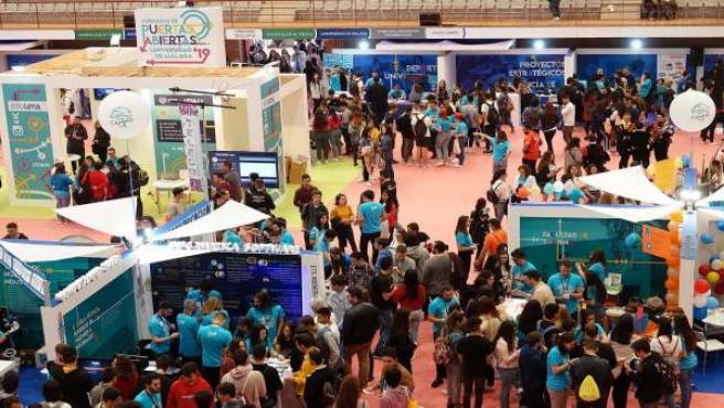 Málaga.- La UMA abre sus puertas a más de 18.000 preuniversitarios de toda la pr