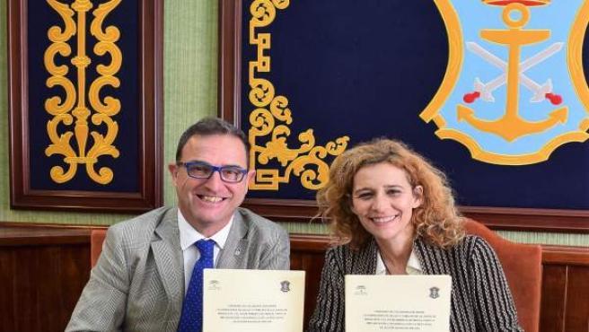 Málaga.- Junta de Andalucía y Ayuntamiento de Nerja firman un convenio para la c