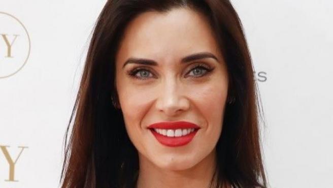 La presentadora Pilar Rubio en un evento de cosmética en 2019.
