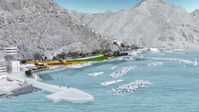 La Autoridad Portuaria da luz verde la construcción de la 'zona de charcos' en e