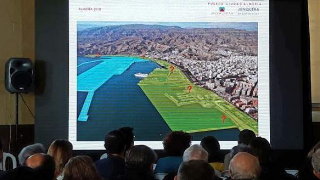Almería.-El alcalde apela a la 'unidad' para 'sacar adelante' el Puerto-Ciudad c