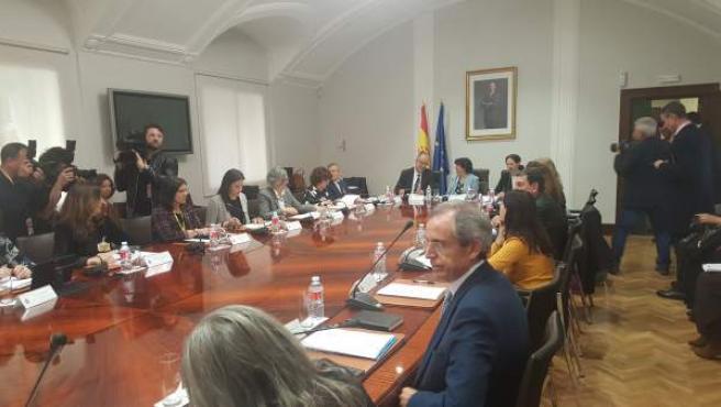 Aragón recibirá 4,7 millones de euros del Pacto de Estado contra la Violencia de