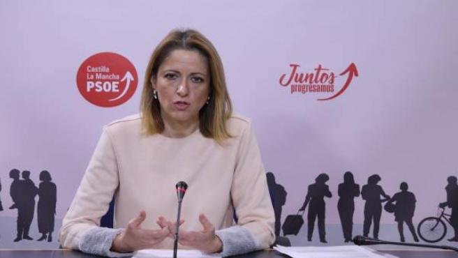 Cristina Maestre, PSOE, en las Cortes