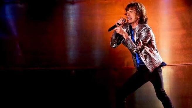 Mick Jagger, durante un concierto en Lisboa en 2014.