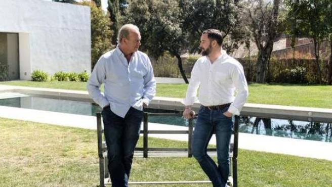 Santiago Abascal, entrevistado por Bertín Osborne.