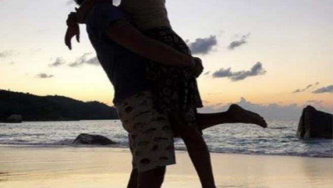 Elena Tablada celebra el amor en las islas Seychelles.