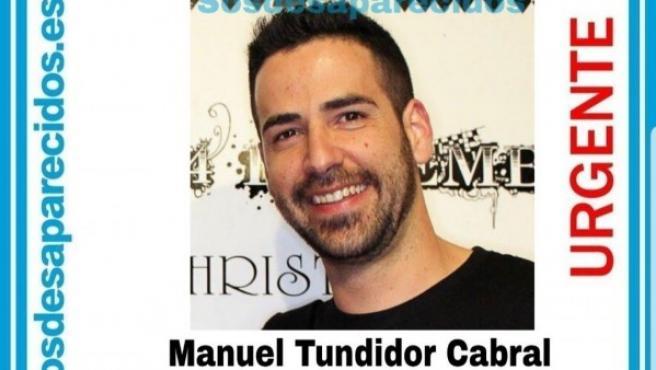Imagen de Manuel Tundidor Cabral, desaparecido en Tena (Ecuador).