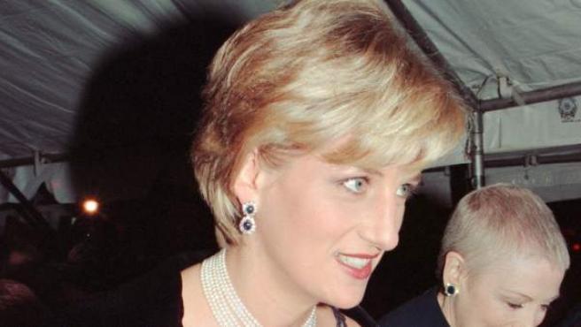 La princesa Diana de Gales, en una imagen captada en 1996, un año antes de su muerte.