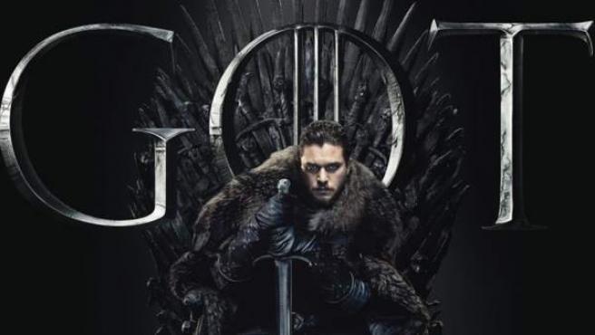 Jon Nieve protagoniza uno de los carteles de promoción de 'Juego de tronos'