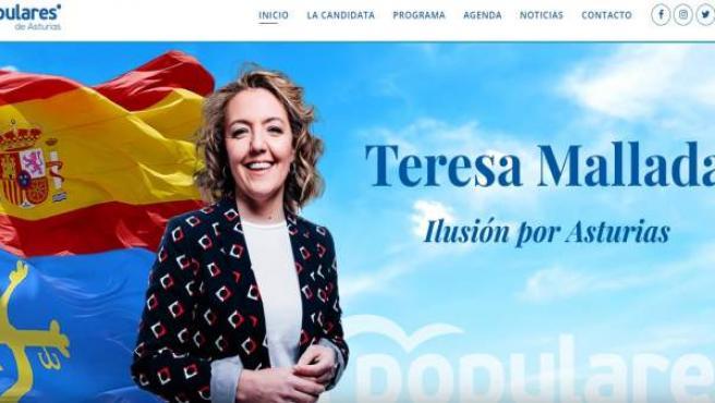 26M.- 'Ilusión Por Asturias' Lema De Campaña De Mallada (PP)