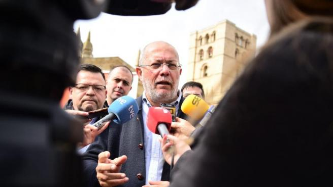 El líder de Ciudadanos en Castilla y León, Francisco Igea.