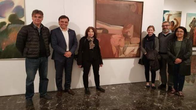El Museo Krekovic acoge una muestra de artistas extranjeros que han pintado en M