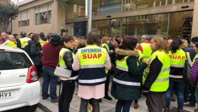 Cantabria.- ASUAP estudian ir a la huelga en Semana Santa por reorganización pac