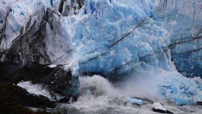 El glaciar Perito Moreno, en el sur de Argentina.