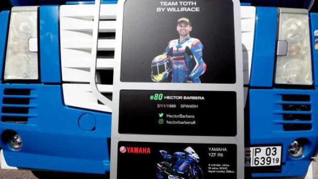 Una de las últimas imágenes de Héctor Barberá como piloto del Team Toth.