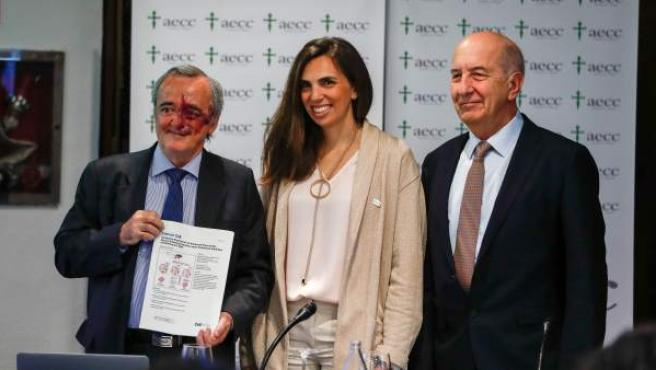 El Instituto de Salud Carlos III y la Asociación Española Contra el Cáncer (AECC) presentan los resultados de una investigación contra el cáncer de páncreas.
