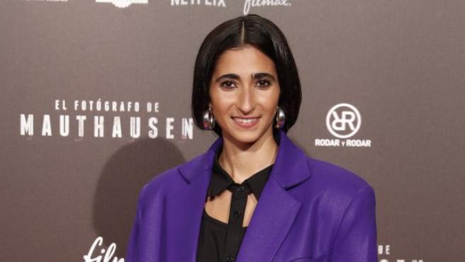 Alba Flores en el estreno del Fotógrafo de Mauthausen.