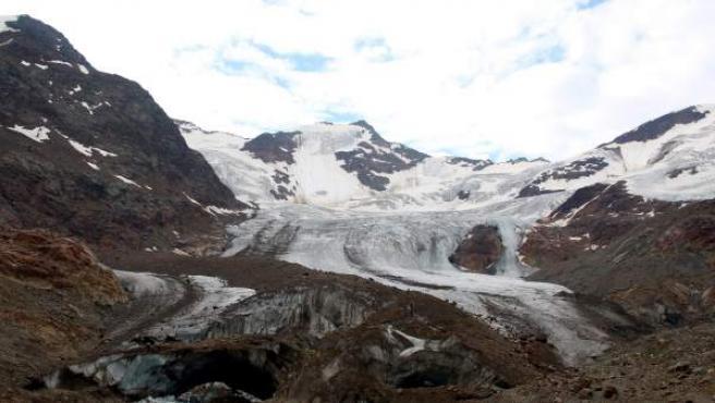 Glaciar Forni en los Alpes italianos.