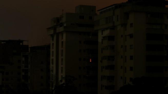 Apagón en Caracas (Venezuela), en un corte de luz que afectó a más de 15 estados en todo el país.