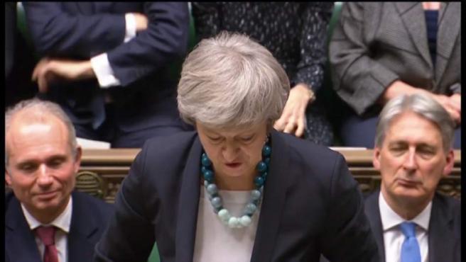 May, abierta a una prórroga flexible del brexit.