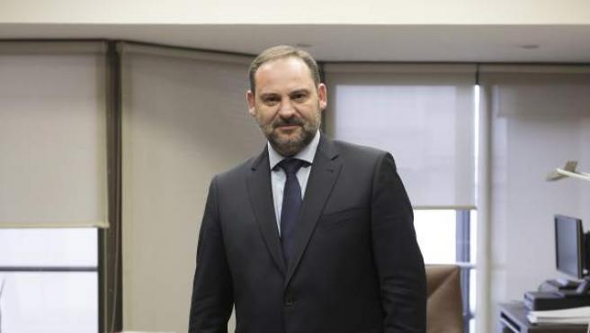 José Luis Ábalos, durante su entrevista con 20minutos.es.