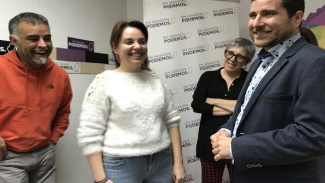 26M.- Podemos Aragón Se Coaliga Con Equo Y Descarta El 'Inaceptable' Acuerdo Con