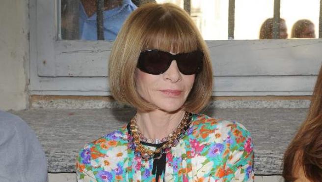 Anna Wintour, editora de 'Vogue'.