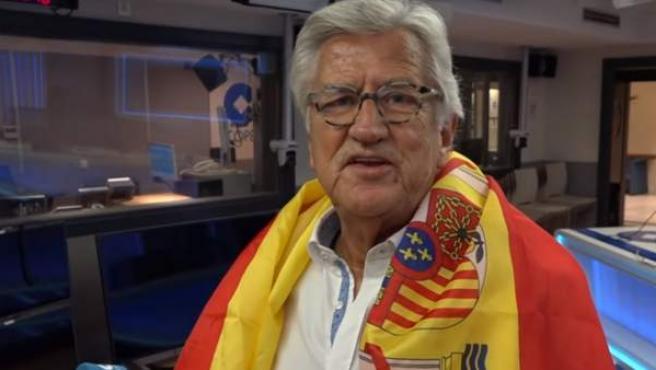 Pepe Domingo Castaño en el vídeo oficial de 'El Rojo de mis días', la canción de Tiempo de Juego para el Mundial de Rusia