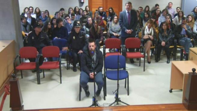 Cuando el juez ha preguntado a 'El Chicle' si quería hacer un alegato final, Juan Carlos Quer se ha levantado y ha intentado hablar.
