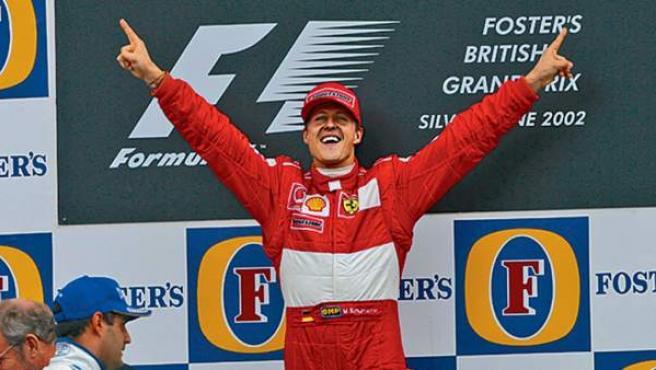 Michael Schumacher, el piloto más exitoso de la historia de la Fórmula 1.