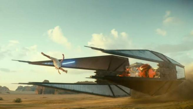 Escena de 'Star Wars Episodio IX'.