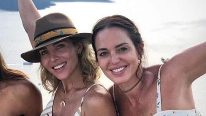 Marta Milans y Elsa Pataky, en una imagen publicada en Instagram.
