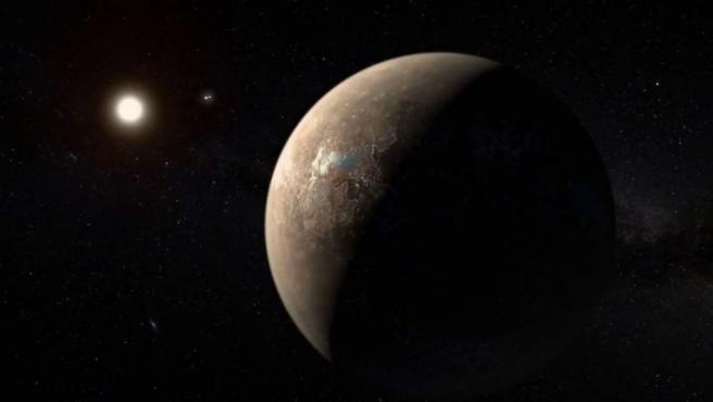 Detectan un exoplaneta candidato alrededor de Próxima Centauri