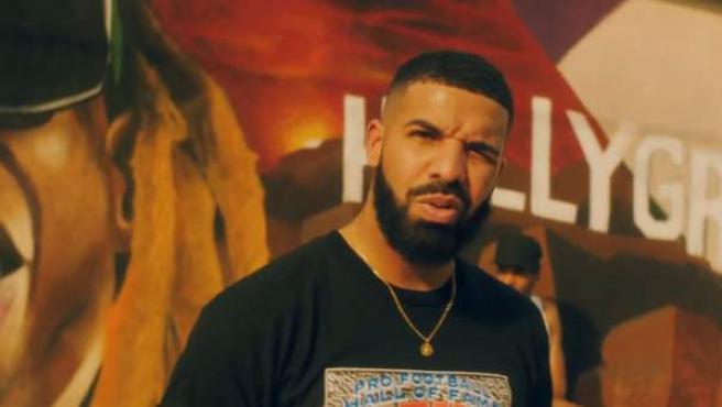 El rapero Drake, en una imagen del videoclip de 'In my feelings'.