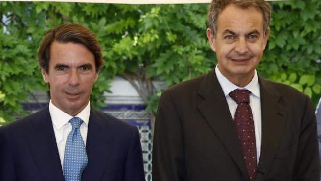 Aznar y Zapatero hicieron el debate electoral más visto (foto de archivo).