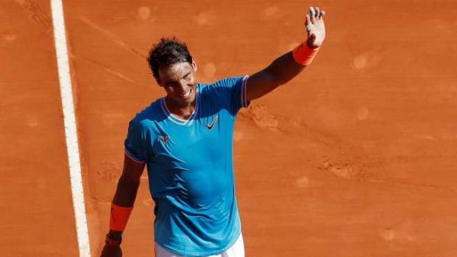 Nadal, once veces campeón en Montecarlo, rompe una nueva barrera al pasar a cuartos.