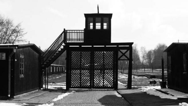 Entrada al campo de concentración de Stutthof, construido por los nazis en Polonia en 1939, en una imagen de 2008.