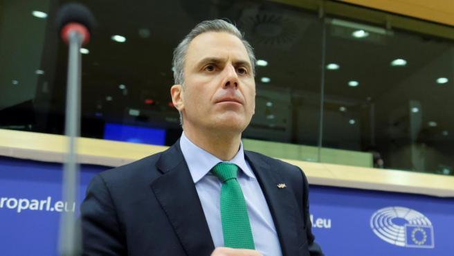 El secretario general de V0x, Javier Ortega Smith.