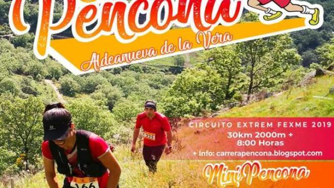 La XII Carrera Pencona de Aldeanueva de la Vera se celebrará el 19 de mayo sobre un perfil duro de 29 kilómetros