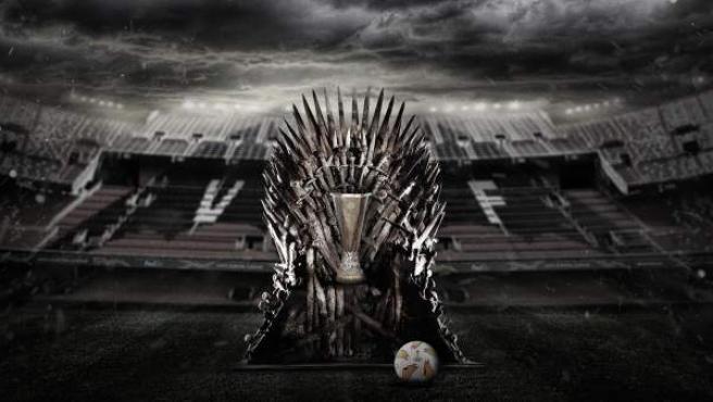 El Trono de Hierro de la Europa League, en Mestalla.