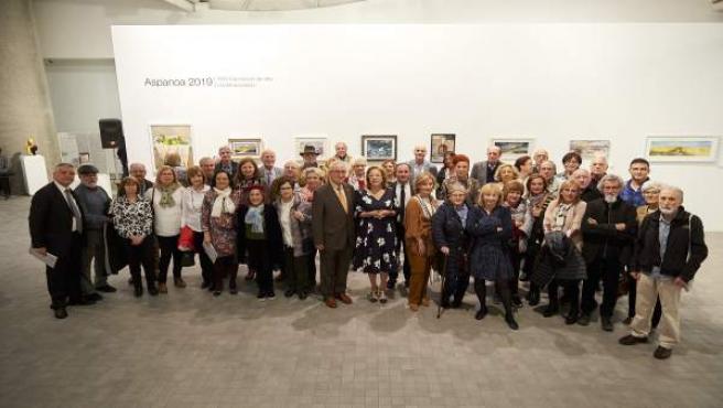 Aspanoa logra 22.000 euros en su XXIV Exposición de arte contemporáneo