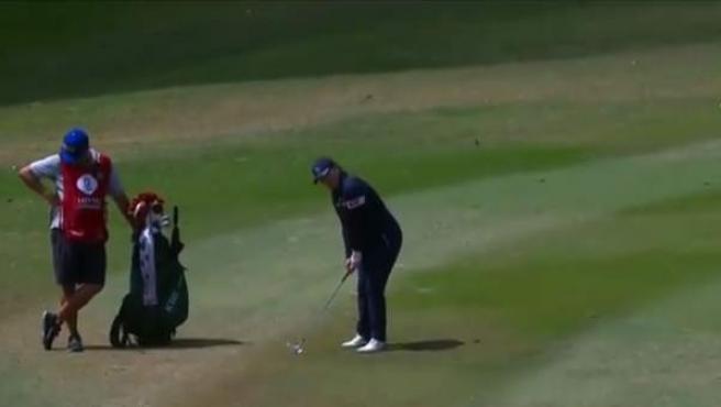 La golfista americana dejó un golpe para la historia en el LPGA Lotte Championship.