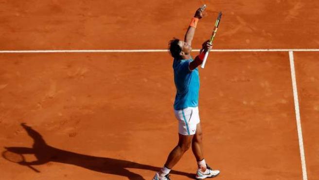 Nadal avanza a semifinales del Masters 1000 de Montecarlo.