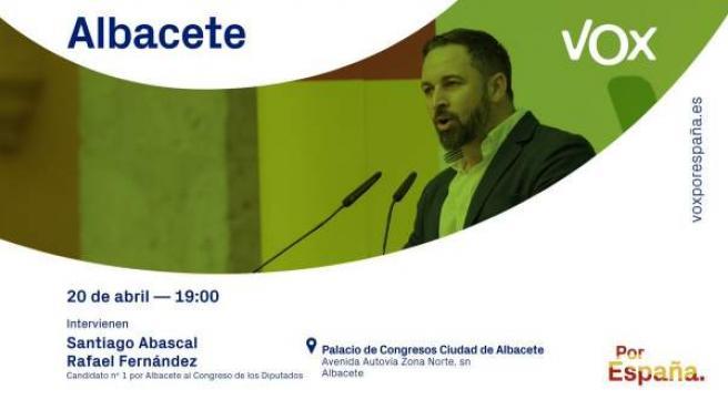 28A.- Abascal Visita Este Sábado Albacete