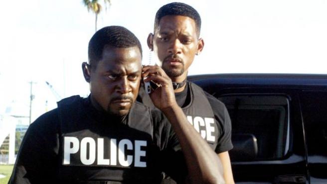 Foto del día: Martin Lawrence y Will Smith celebran el fin del rodaje de 'Dos policías rebeldes 3'