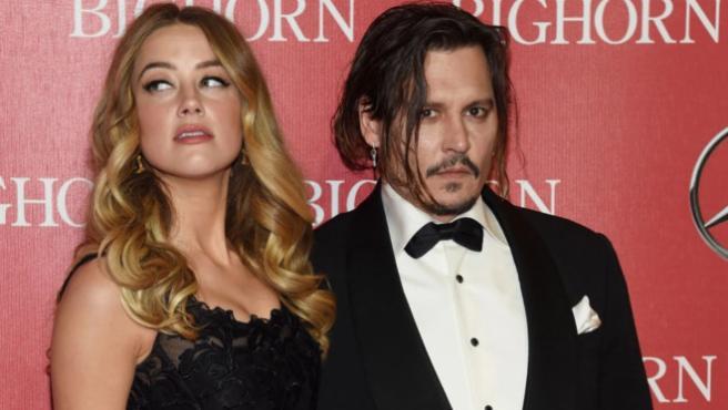 Johnny Depp, acusado de intentar sabotear la aparición de Amber Heard en 'Aquaman'