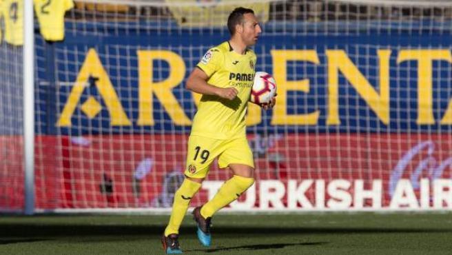 Santi Cazorla, jugador del Villarreal CF.