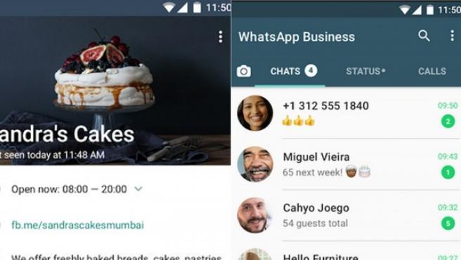 Whatsapp Business.